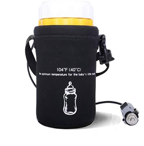 Saftybay Baby Bottle Warm Bag, Car Cigarette Lighter Thermostat Hot Warm Milk, Portable Bottle Warm Milk Heater (Car Charger)