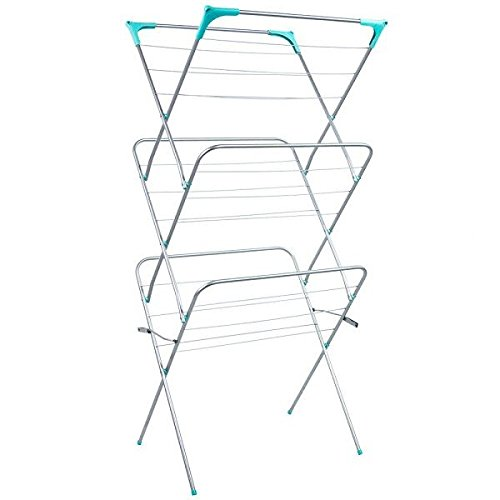 Other NEW 3 TIER CLOTHES AIRER LAUNDRY DRYER INDOOR OUTDOOR TOWELS HOME RACK FOLDABLE