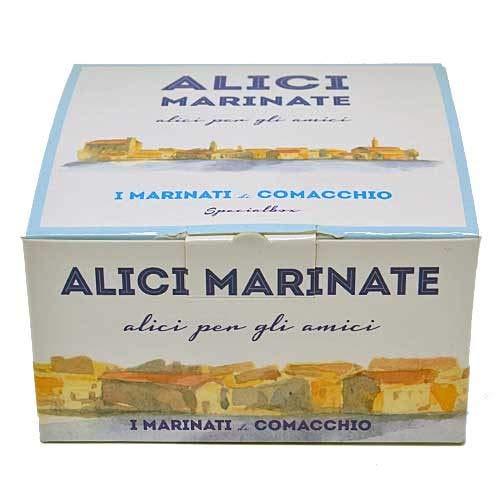 I Marinati di Comacchio - Alici Marinate 200g