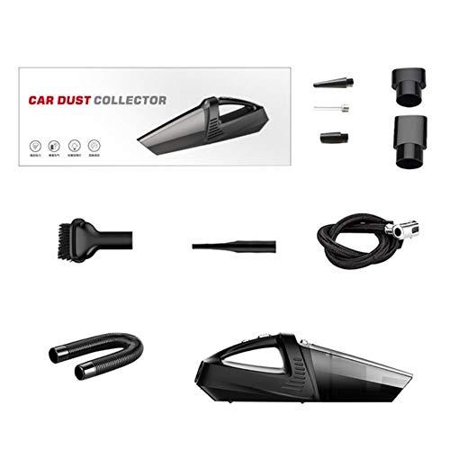 Miwaimao 4-in-1 auto-handstofzuiger, met wijzers, bandenpomp en manometer, draagbare stofzuiger voor thuis en in de auto