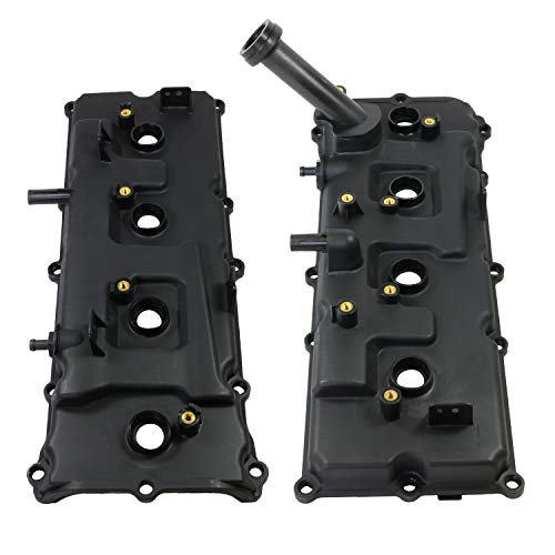 JDMSPEED New Valve Covers With Gaskets Kit Left And Right Replacement For Nissan Pathfinder Titan V8 5.6