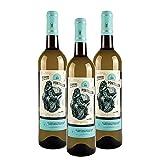 Vins&Co Barcelona - Pack 3 botellas Vino Blanco joven Pontellón - D.O. Rías Baixas – 13,00% Alcohol - Vino Albariño rias baixas - 100% Albariño -