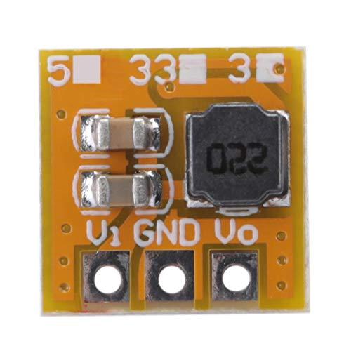 Módulo convertidor de refuerzo de voltaje con DC-DC 5V Tablero del cargador de salida Step-up para kits electrónicos de bricolaje