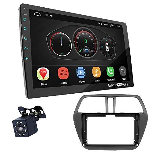 UGAR EX10 9 pollici Android 10.0 DSP Navigazione GPS per Autoradio + 11-438S Kit di Montaggio compatibile per SUZUKI SX4, S Cross 2013+