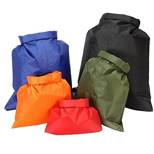 Conjunto De Bolsas Secas a Prueba De Agua De 5 Piezas, Combinación Liviana con 1.5l, 2.5l, 3.5l, 4.5la.5la.5laps, Kayaking Balanceo De Rafting