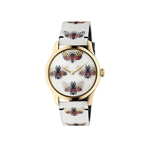 Gucci Holo Reloj Cuarzo Suizo analógico Caja de YA1264109