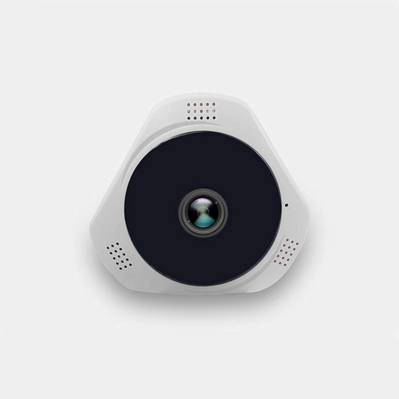 何紀元前幸福辽阳世纪电子产品贸易中心 HD 960P度パノラマホームセキュリティカメラ、ナイトビジョン2ウェイオーディオ、動き検出