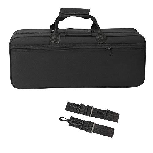 Andoer 600D Water-resistant Gig Bag Box Backpack Oxford Cloth for Trumpet with Adjustable Dual Shoulder Strap Pocket Foam Cotton Padded (Style 3)