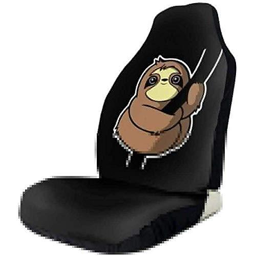 MOLLUDY 2 PCS, kletternde Universalautositz-Abdeckungs-Vordersitz-Schutzvorrichtungen für Auto, LKW und SUV