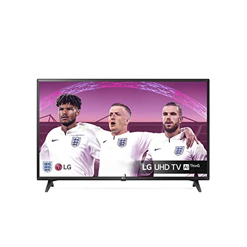 LG Electronics 43UM7050PLF 43 inch UHD 4K HDR Smart LED TV with Freeview Play - Ceramic Black Colour (2020 Model) [Energy Class A]