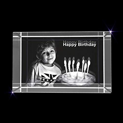 Personalized 3D Engraved Crystal Photo Gift