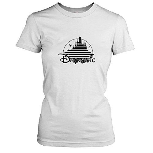 Texlab Drangleic-Damen T-Shirt Camiseta, Mujer, Blanco, Extra-Large