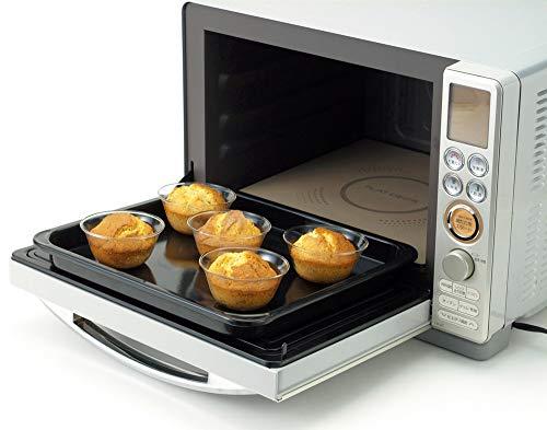 iwaki(イワキ)耐熱ガラスゼリー型プリンカップKBT904100ml×6個セット