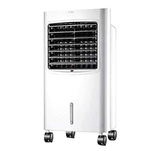 WLD Ventilador de aire acondicionado de verano Ventilador doméstico sin hojas Ventilador de aire acondicionado, frío y calor Uso dual Ventilador de control remoto Refrigerador Ventilador de ahorro de