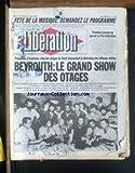 LIBERATION [No 1271] du 21/06/1985 - FETE DE LA MUSIQUE - DEMANDEZ LE PROGRAMME -...