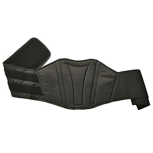 Nerve Starter Cinturón de Soporte Lumbar para Moto, Negro, XXXL