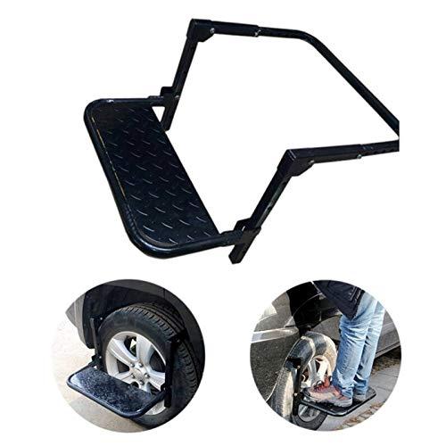 GYYY Rad Schritt Folding Auto Treppen Reifenmontage Auto Stufen Leiter for Fahrzeug MPV SUV Dachträger...