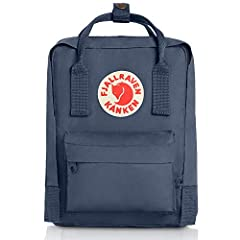 ICONIC: Meet the mini version of our classic Kanken. Same design, smaller size. Stash everyday essentials in the main zippered compartment, front zippered pocket, and two open side pockets. PRACTICAL: Meet the material: Vinylon F. It has a weird name...