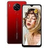 Blackview A80 Smartphone Android 10 Smartphone Offerta del Giorno 6.217'' Schermo,13MP Quad Camera,4200mAh Batteria Cellulari Offerte,2+16GB/128GB Espandibili,4G Dual SIM Telefoni Cellulari-Rosso