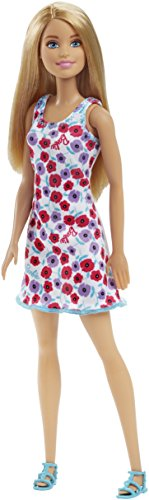 Barbie White Background Dress - Muñecas (Beige, Negro, Multicolor, Púrpura, Rojo, Blanco, Femenino, Chica, 3 año(s)) , color/modelo surtido
