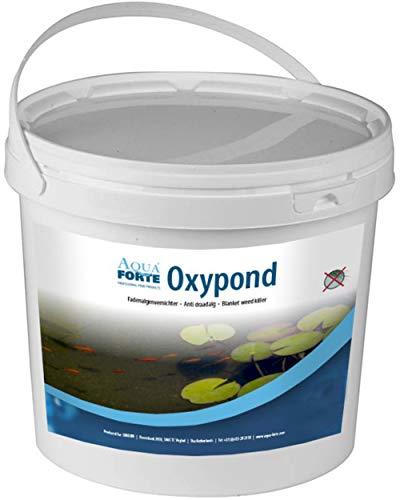"""AquaForte Anti-Fadenalgenvernichter """"Oxypond""""(vorher """"Oxyper""""), 1 kg (reicht für 32000 Liter Teichwasser!), wirkt sofort effektiv gegen Fadenalgen!"""
