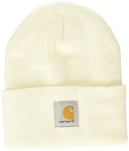 Carhartt Watch Hat Gorro/sombrero, Winter White, OFA Unisex-Adulto