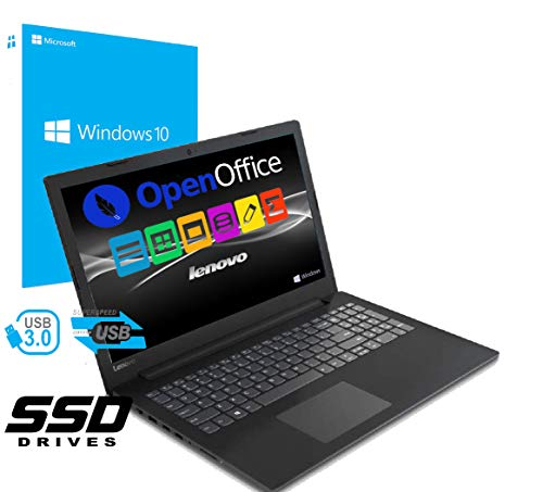 Notebook Pc Portatile Lenovo Led da 15.6    Cpu Amd A4 2.30GHz   Ram 4Gb Ddr4   Ssd 256gb   Grafica Radeon R3   Hdmi   Masterizzatore   Wi fi   Bluetooth   Office Open surce   Windows 10 professional