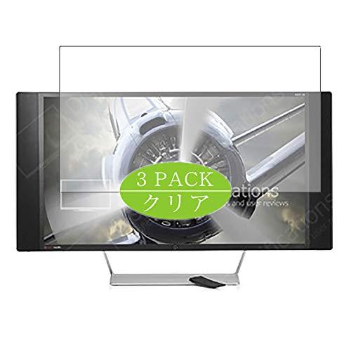 VacFun 3 Piezas Claro Protector de Pantalla, compatible con HP Envy 32 Bang & Olufsen N9C43AA 32' Display Monitor, Screen Protector Película Protectora(Not Cristal Templado) NEW Version