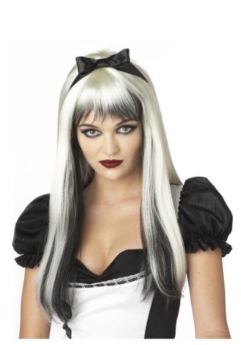 California Costumes Dark Alice Wig Standard White