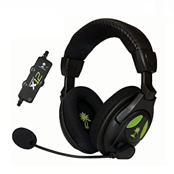 Turtle Beach - Ear Force X12 Amplified Stereo Gaming Headset - Xbox 360  Discontinued by Manufacturer
