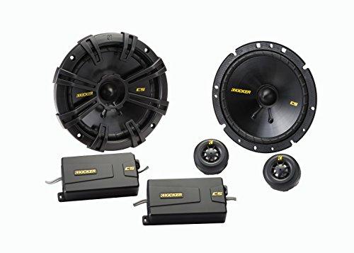 Kicker css67–Altoparlanti per auto (300W max, 100W RMS, 2vie, colore: nero