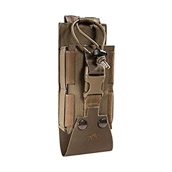 Tasmanian Tiger TT Tac Pouch 2 Radio MKII Sacoche Radio pour SEM 52 S ; Compatible Molle (Coyote Brown)
