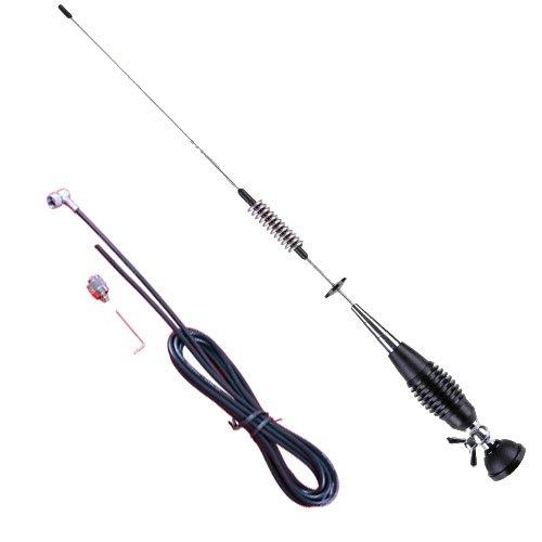 CB Funkantenne 3dbi CB125 80cm Höhe PL Stecker und 4Meter Kabel CB Antenne Funk Antenne DV800