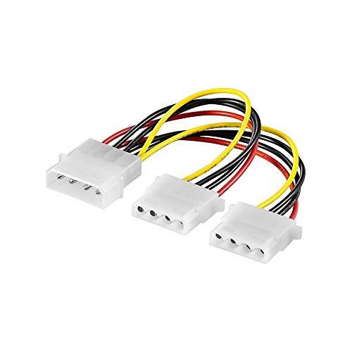 Internes Y-Kabel 5.25 Stecker auf 2x Kupplung 0.16m