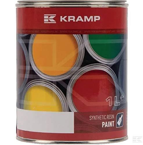Kramp Lack Eisengrau RAL 7011 Kunstharz Fahrzeuglack 1L