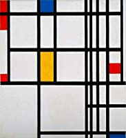 Piet Mondrianジクレープリント アート紙 アートワーク 画像 ポスター 複製(組成物2)
