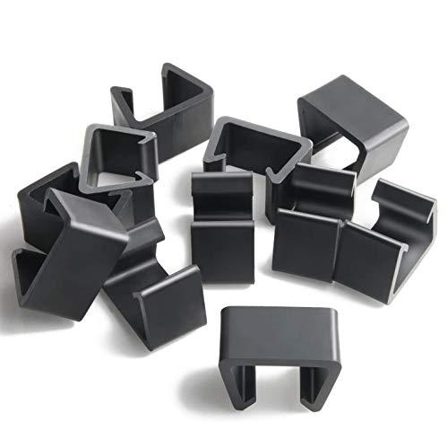 Petknows - Pinzas de mimbre para muebles de patio, 12 unidades, tamaño mediano