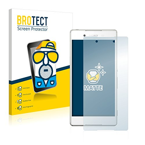 BROTECT 2X Entspiegelungs-Schutzfolie kompatibel mit Sony Xperia Z3+ Bildschirmschutz-Folie Matt, Anti-Reflex, Anti-Fingerprint