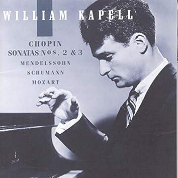 William Kapell Edition, Vol. 2: Chopin: Sonatas Nos. 2 and 3; Mendelssohn; Schumann; Mozart