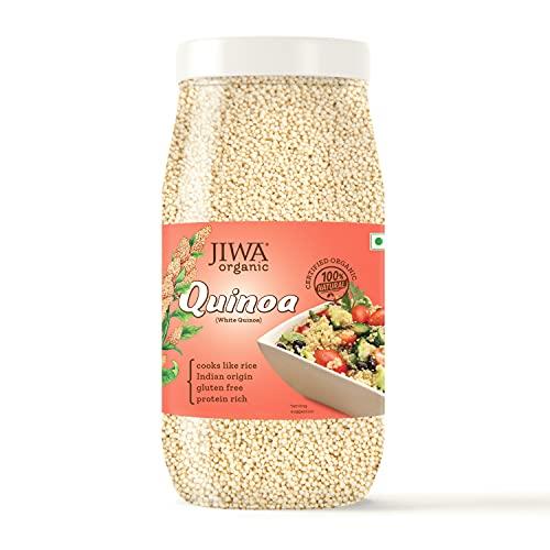 JIWA healthy by nature Organic Quinoa, 1 Kg, (Certified Organic & Gluten Free)