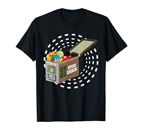 Geocaching Encuentra GPS Geocache Juego Geocacher Búsqueda Camiseta