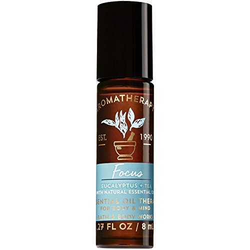 Bath and Body Works Aromatherapy Focus - Eucalyptus & Tea Essential Oil Rollerball 0.27 Fl. Oz.