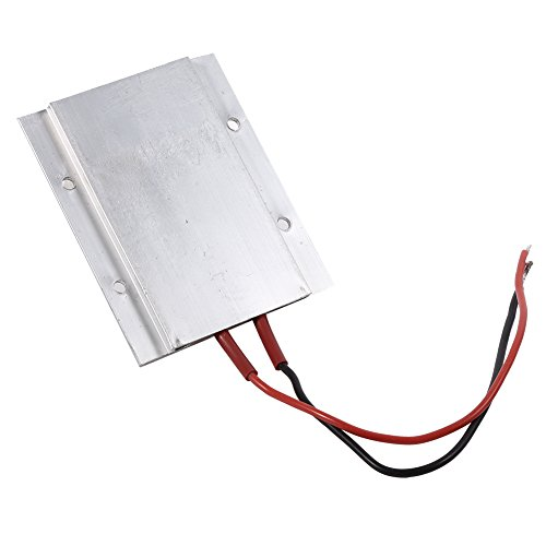 Placa calefactora de termostato PTC, 220 V eléctrica de temperatura constante Kit de calentador de aire de elemento calefactor PTC(110W 220℃)