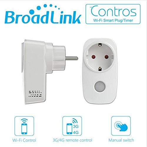 Broadlink SP3-EU WLAN-Steckdose Smart Home Timing Switch Plug kabellose Fernbedienung