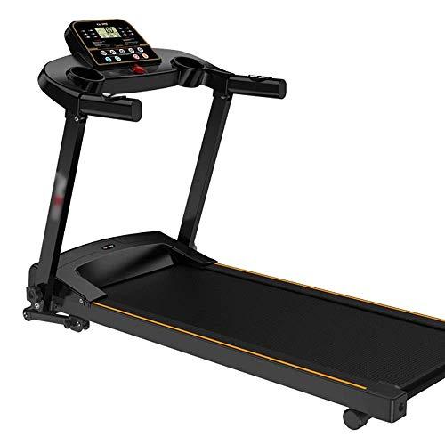 Cinta de correr, función plegable Cinta de correr eléctrica Gimnasio interior Ultra-silencioso, Máquina para correr Pequeña Máquina de caminar multifuncional, para hombres / mujeres Peng jianyou