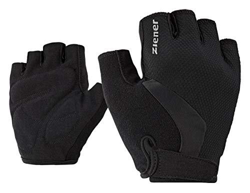 Ziener Kinder CRIDO Fahrrad-, Mountainbike-, Radsport-Handschuhe | Kurzfinger - atmungsaktiv/dämpfend, black, S