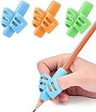 CHRONEX ECOMM Pencil Grips for Kids Handwriting, Children Pen Writing Aid Grip Set