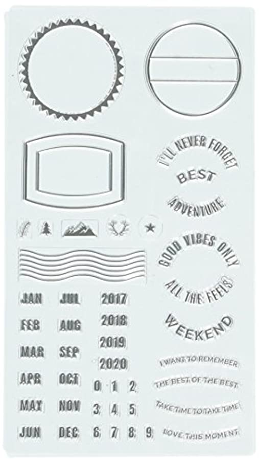 Heidi Swapp 314125 Clear Stamps,