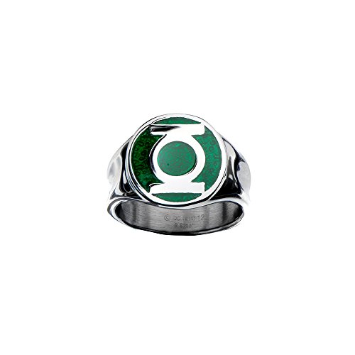 DC Comics The Green Lantern Logo Anillo | 10