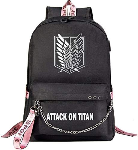Attack on Titan Shingeki no Kyojin Anime Star ry Sky Lightning: Mochila para portátil